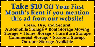 Self Storage Specials for Johnson Creek Storage Facility Wisconsin